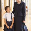 お受験スーツ ママ おすすめ 濃紺アンサンブルスーツ 評判